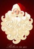 De met de hand geschilderde Kerstman Royalty-vrije Stock Fotografie