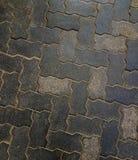 De met elkaar verbindende rots van de de klomptextuur van de cementbestrating voor achtergrond royalty-vrije stock fotografie