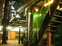 De met kolen gestookte stoker van de waterboiler Stock Foto