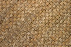 De met stro bedekte Achtergrond van de Mat Royalty-vrije Stock Afbeelding