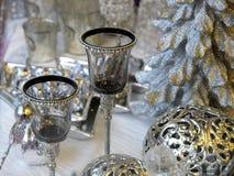 De metaal lijst van Kerstmis royalty-vrije stock fotografie
