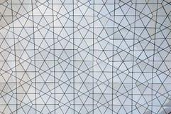 De metaaltextuur van de Spiegeltegel stock foto's