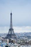 De metaaltoren van Eiffel Stock Foto