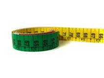 De meter van de band Stock Foto's