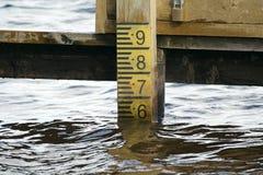 De meter van de diepte Stock Foto's