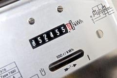 De meter van de elektriciteit Royalty-vrije Stock Afbeelding