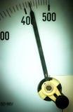 De meter van de macht Stock Foto