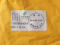 De meter van de postport in Peking stock foto's