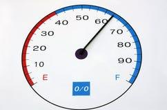 De meter van de snelheid Stock Foto