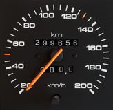De meter van de snelheid Royalty-vrije Stock Foto's