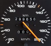 De meter van de snelheid Stock Afbeelding