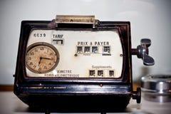 De meter van de taxi Stock Afbeelding