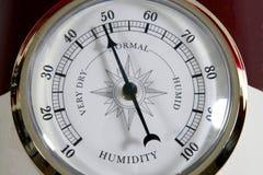 De meter van de vochtigheid Stock Foto's