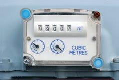 De Meter van het gas Royalty-vrije Stock Foto