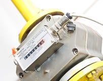 De meter van het gas Stock Afbeeldingen
