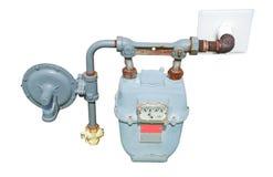 De meter van het gas Royalty-vrije Stock Foto's