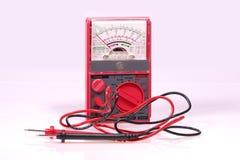 De Meter van het voltage Stock Foto's