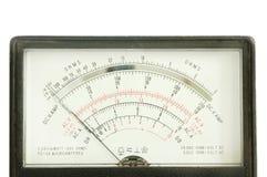 De meter van het voltage Stock Foto