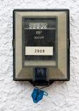 De meter van het water royalty-vrije stock foto's