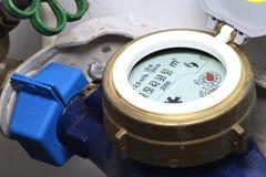 De meter van het water stock afbeelding