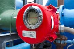 De meter van waterleidingsbedrijven Stock Foto's