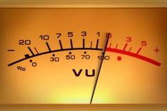 De meterclose-up van het niveau Royalty-vrije Stock Foto