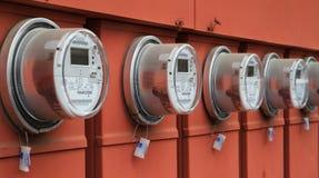 De meters van de macht Royalty-vrije Stock Afbeeldingen