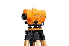 De meting van de laser royalty-vrije stock afbeeldingen