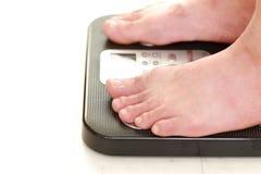 De meting van het gewicht Stock Fotografie