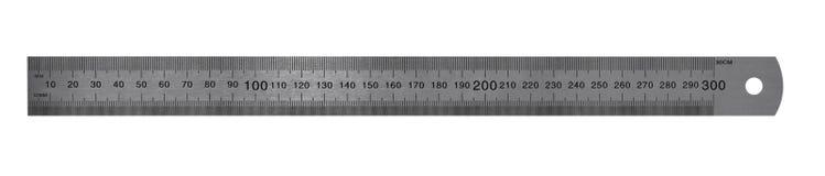 De metrische Heerser van het Staal Royalty-vrije Stock Foto