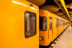 De Metro in Berlijn royalty-vrije stock afbeeldingen