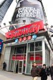 De Metro NYC kondigt Vierkant aan Royalty-vrije Stock Afbeeldingen