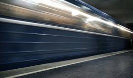De metro van de motie Stock Afbeeldingen