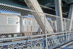 De Metro van de Stad van New York Royalty-vrije Stock Foto