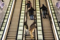 De metro van Napels Stock Foto's