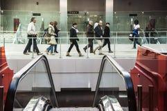 De metro van Napels Stock Afbeeldingen