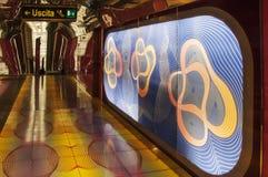De metro van Napels Royalty-vrije Stock Afbeelding