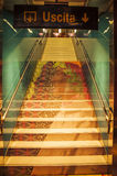 De metro van Napels Royalty-vrije Stock Foto