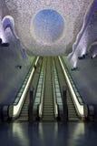 De metro van Napels, Toledo Art Station Royalty-vrije Stock Foto's