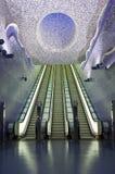 De metro van Napels, Toledo Station Royalty-vrije Stock Fotografie