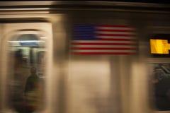 De metro van New York royalty-vrije stock afbeelding