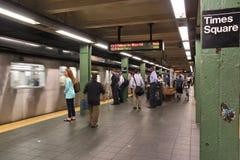 De metro van New York royalty-vrije stock afbeeldingen