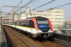De metro van Shanghai Royalty-vrije Stock Foto's