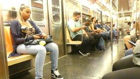 De Metro van de Stad van New York stock footage
