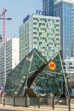 De Metro van Warshau Stock Foto