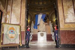 De Metropolitaanse Kathedraal van Buenos aires, Argentinië Stock Afbeelding