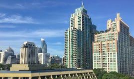 De metropool van Bangkok Stock Foto's
