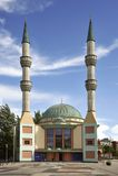 De Mevlana-Moskee Royalty-vrije Stock Fotografie