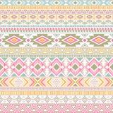 De Mexicaans-Amerikaanse Indische geometrische vectorachtergrond van patroon stammen etnische motieven stock illustratie