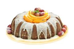 De Mexicaanse Cake van Bundt van de Chocolade Stock Afbeeldingen